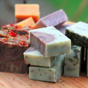Homemade Natural Bar Soaps
